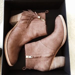 Steve Madden genuine leather booties
